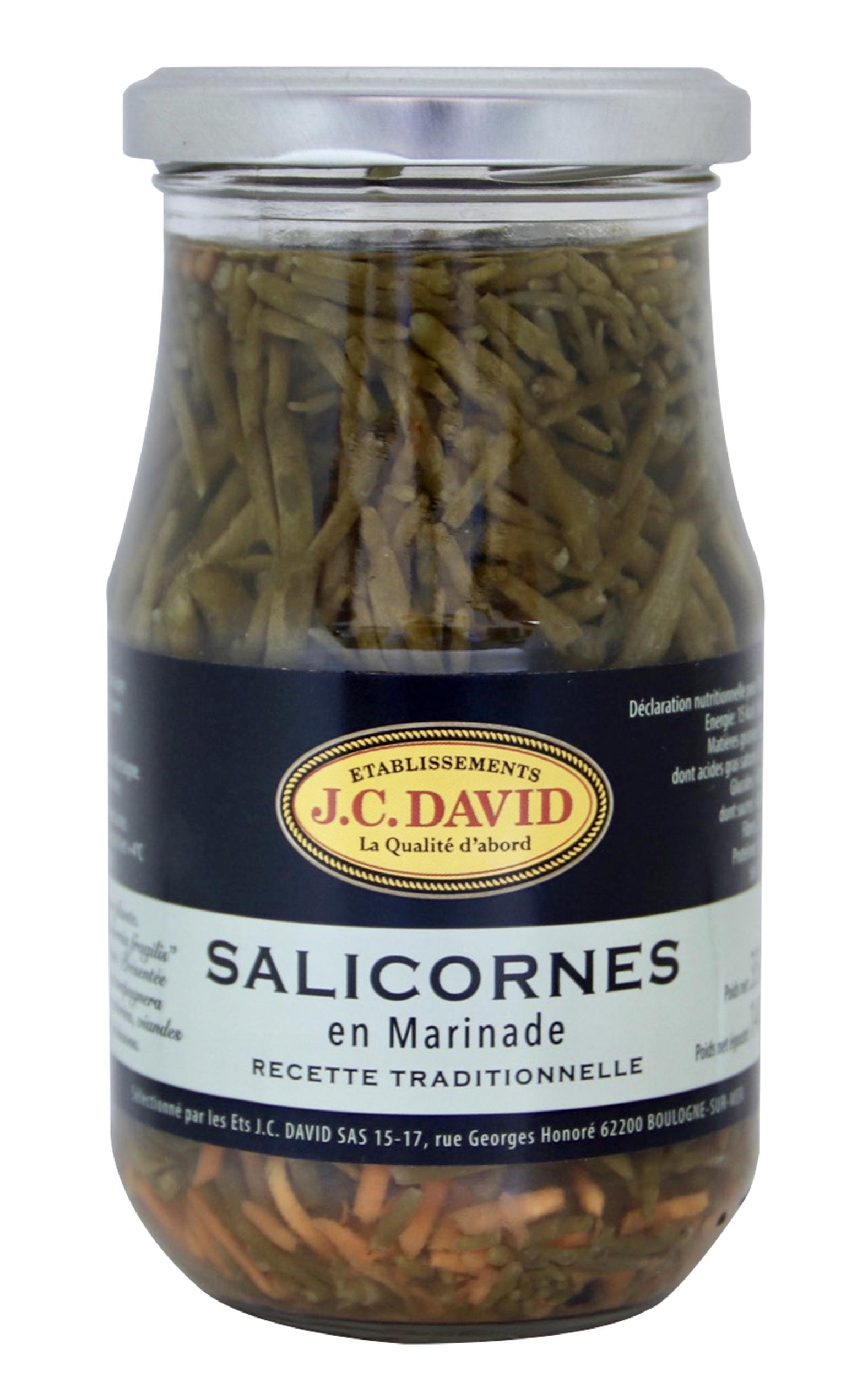 SALICORNES EN MARINADE - 140 g