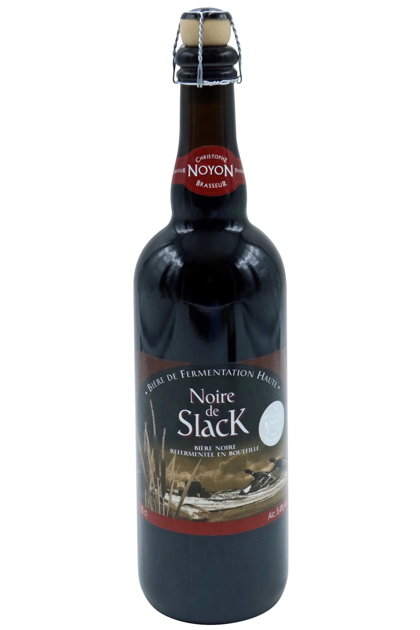 BIÈRE NOIRE DE SLACK 75cl