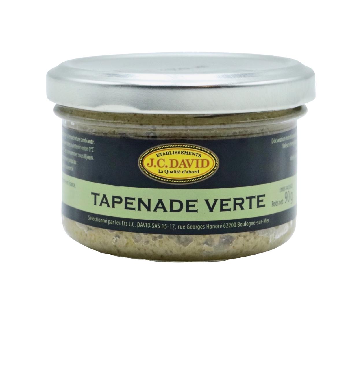 TAPENADES AUX OLIVES VERTES - 90 g