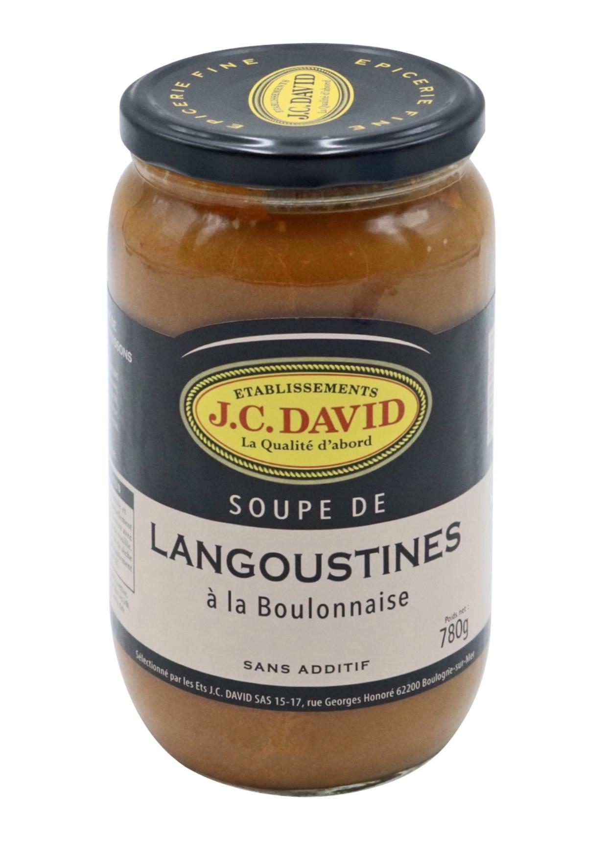 SOUPE DE LANGOUSTINES - 780 g