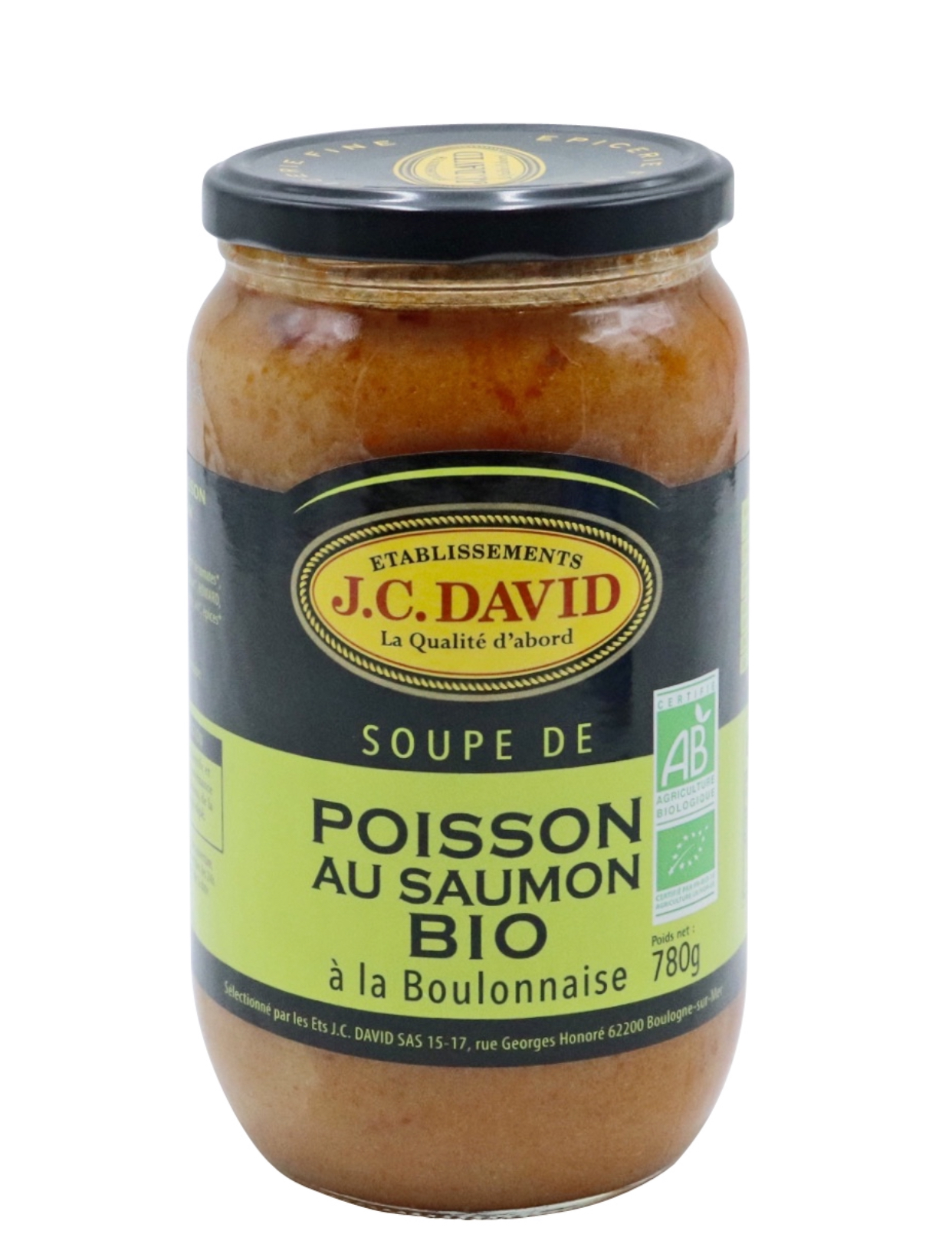 SOUPE DE SAUMON BIO - 780 g