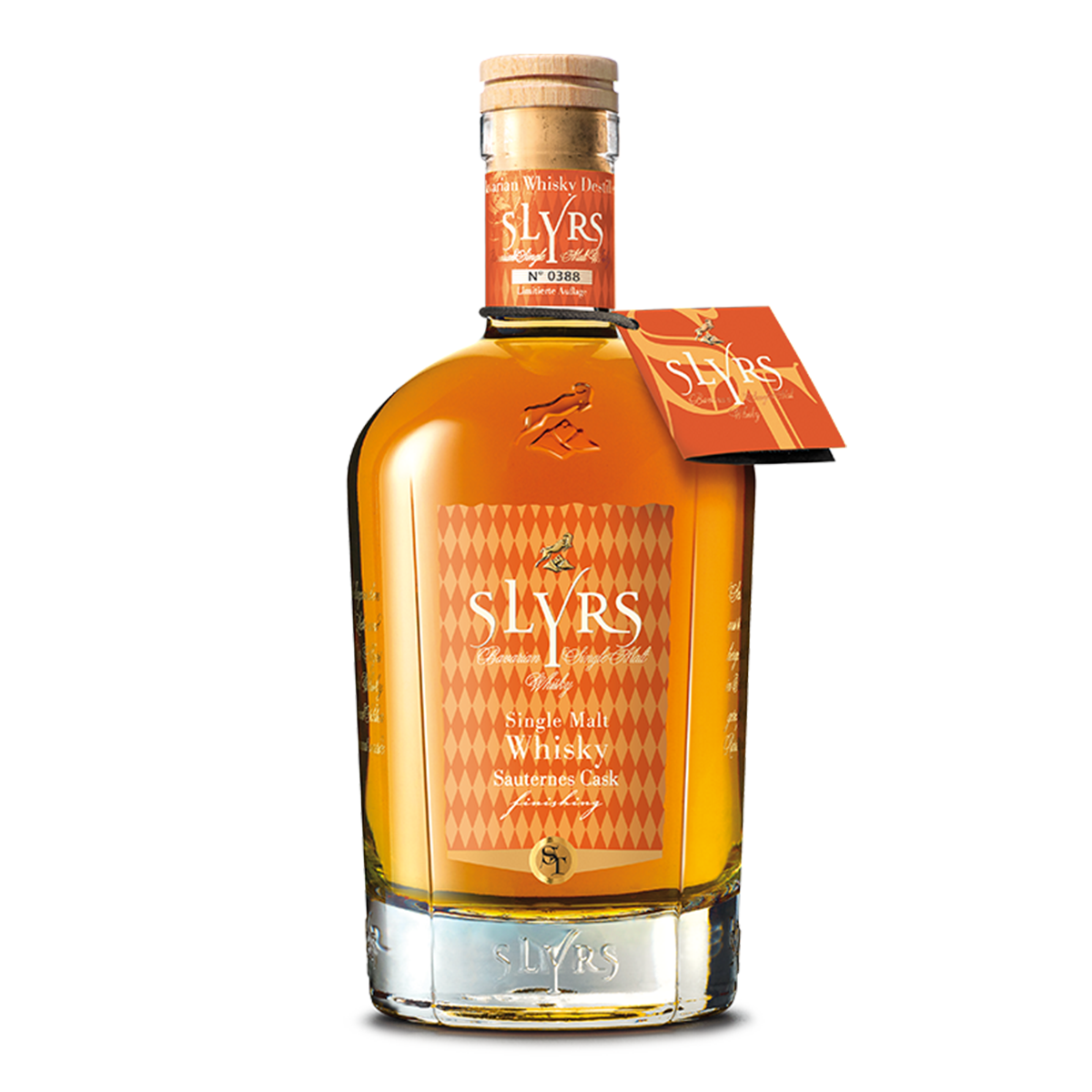SLYRS Single Malt Whisky | Finition fût de sauternes | 46 % vol.