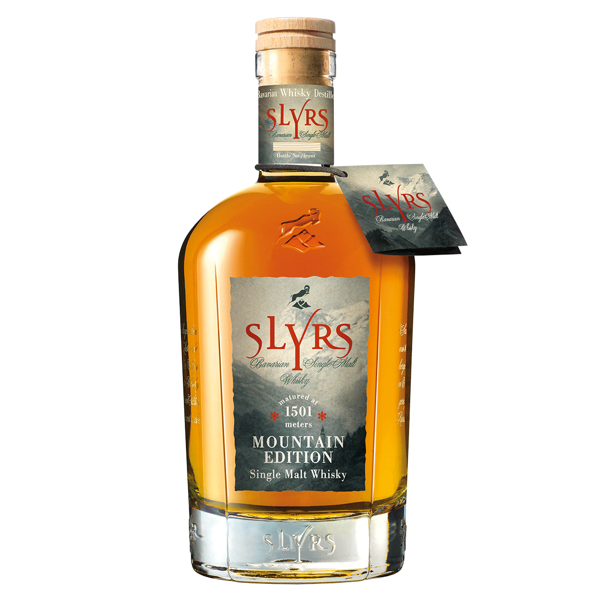 SLYRS Single Malt Whisky | Édition Montagne | 45 % vol.