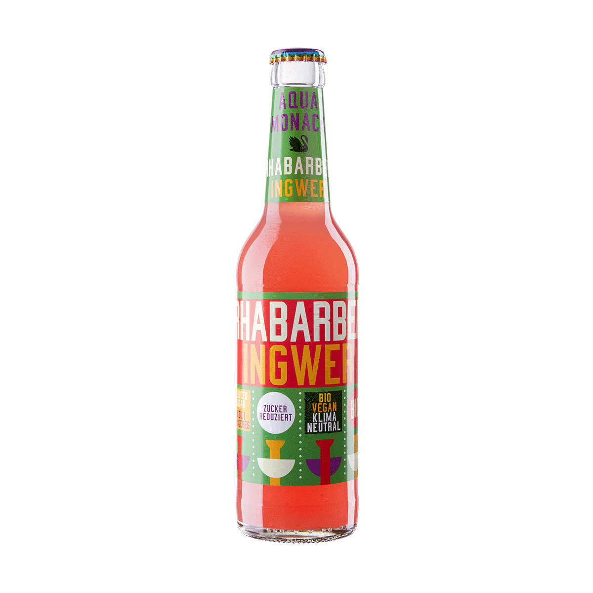 Limonade | Rhubarbe & gingembre | 33 cl