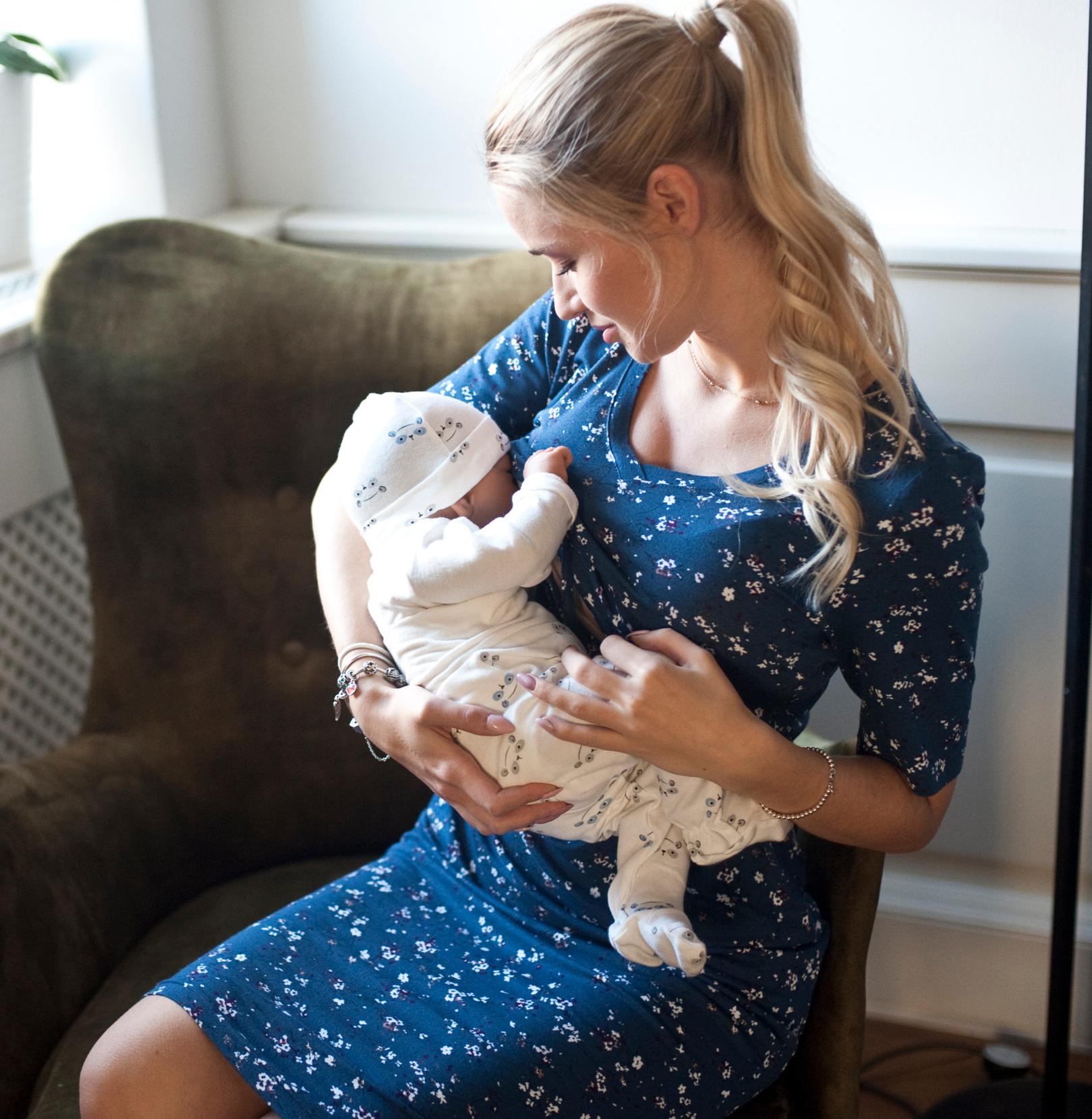 Robe de grossesse et d\'allaitement Yona - VEGAN