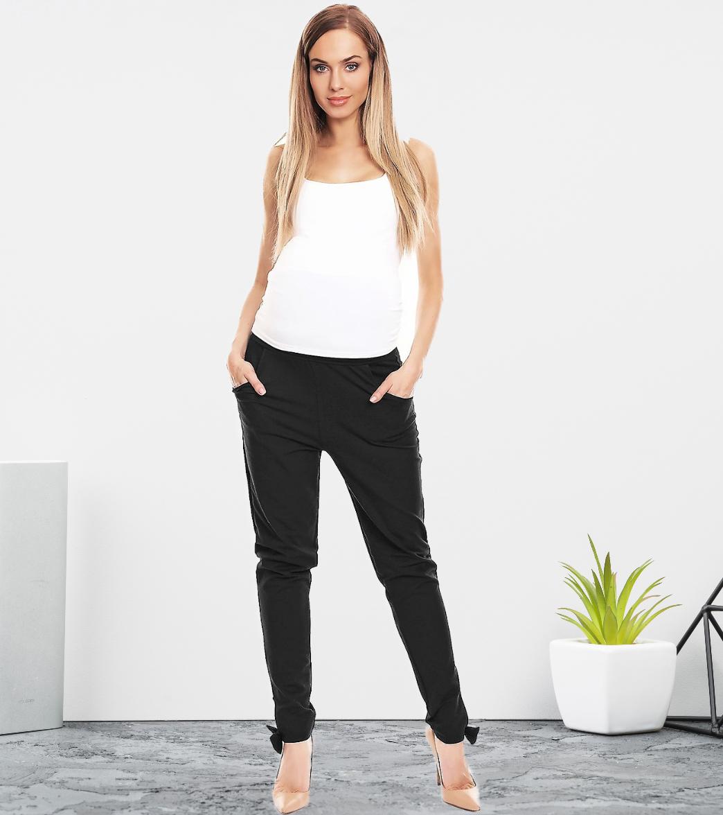 Pantalon avec détail noeud