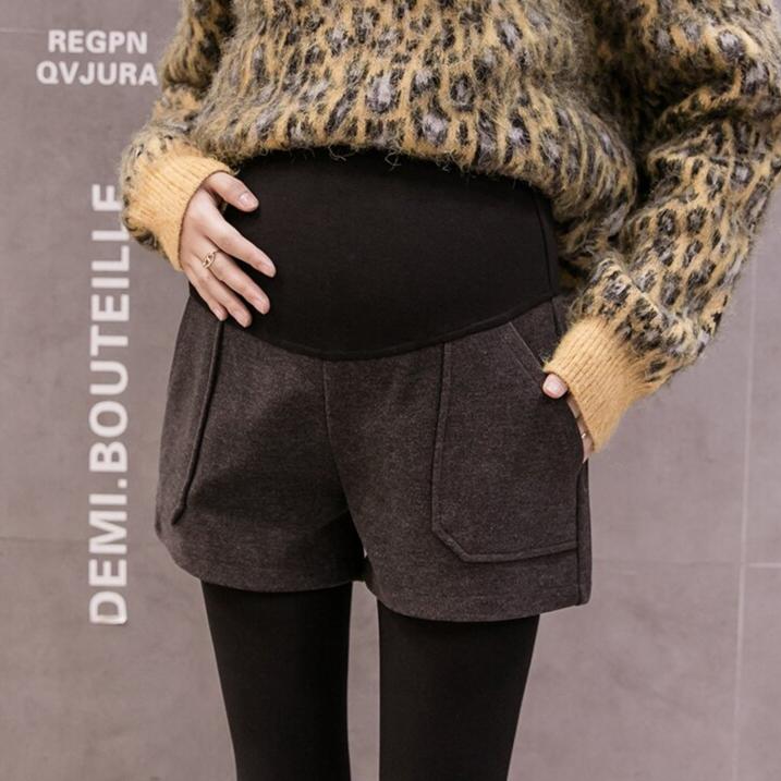 Short de grossesse en coton ultra doux