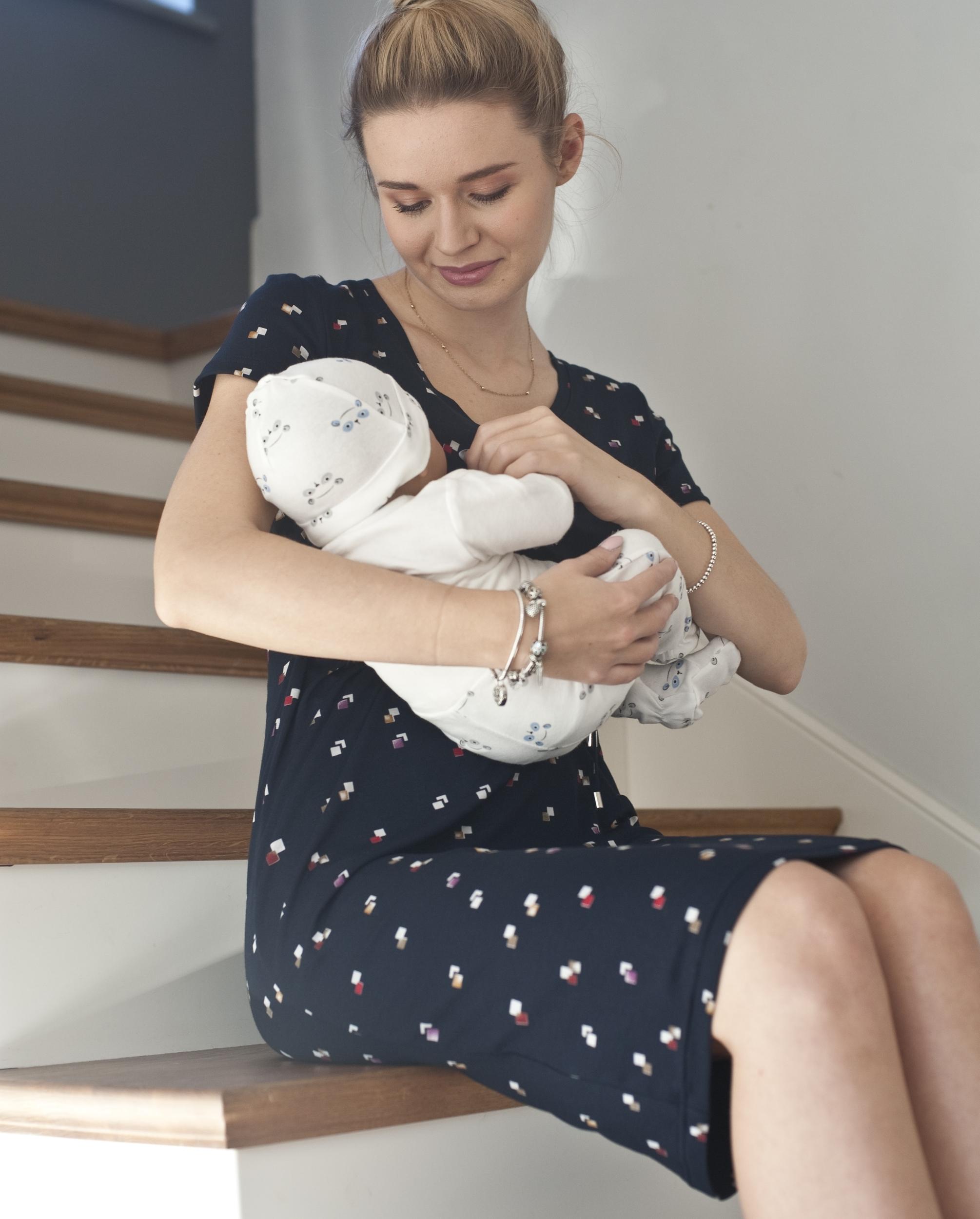 Robe de grossesse et d\'allaitement Maze - VEGAN