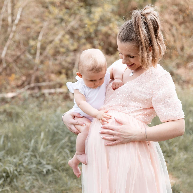 Robe de grossesse Anastasia pour séance photo