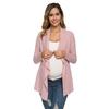 Maternit-Top-Wrap-Kimono-Cardigans-allaitement-d-contract-maternit-v-tements-grossesse-chemise-blouse-d-allaitement