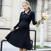 Robe-de-maternit-2019-chemise-de-grossesse-au-dessus-du-genou-robe-en-tricot-automne-et
