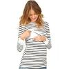 Automne-soins-infirmiers-hauts-de-maternit-v-tements-d-allaitement-pour-les-femmes-enceintes-manches-longues