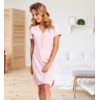 chemise nuit rose v1
