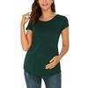 Maternit-t-hauts-femmes-grossesse-manches-courtes-T-Shirts-Vogue-T-Shirts-pour-femmes-enceintes-l