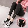 Bouton-Jeans-v-tements-de-maternit-pour-femmes-enceintes-pantalon-crayon-haut-Stretch-Jeans-pantalon-grossesse