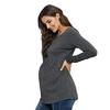 T-shirt-tunique-grande-taille-femme-Ample-volants-style-d-contract-v-tements-de-maternit-coton