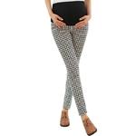 Taille-haute-Plaid-pantalon-pour-femmes-enceintes-v-tements-maternit-lastique-abdominale-grossesse-pantalon-Prop-ventre
