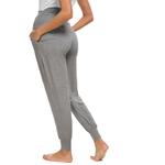 Pantalon-maternit-femme-Super-Stretch-Secret-Fit-ventre-cheville-Skinny-pantalon-de-travail-Harem-pantalon-de