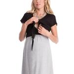 Robes-d-allaitement-manches-courtes-v-tements-d-allaitement-de-maternit-pour-les-femmes-enceintes-robe