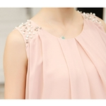Mousseline-de-soie-perles-robes-de-maternit-pour-les-femmes-enceintes-v-tements-Vestidos-t-sans