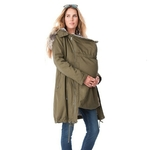 Maternity-Coat-Jacket-Kangaroo-Outfit-Keep-Thin-Windbreaker-Mother-Fur-Collar-Outwear-Pregnant-Woman-Baby-Carrier