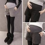 Femmes-enceintes-automne-et-hiver-Shorts-femmes-enceintes-short-en-laine-sauvage-maternit-allaitement-pantalon-bottes