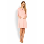 Robe rose rond metal 2