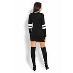 robe pull noir 3