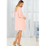 Robe rose rond metal 5