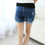 V-tements-de-maternit-jean-pour-femmes-enceintes-short-de-grossesse-taille-basse-pantalon-ample-trou