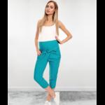 Pantacourt turquoise 4