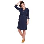 Dress ALISON navy blue I