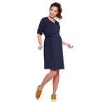 Dress ALISON navy blue III