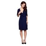 dress ALISON navy blue karmienie