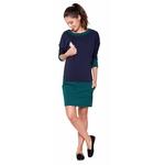 dress ANDREA DIMOND green-navy III