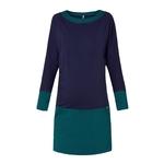 dress ANDREA DIMOND green-navy pc