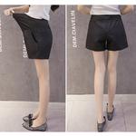 Taille-haute-femmes-enceintes-Shorts-Style-d-contract-dames-maternit-Shorts-Vintage-femme-grossesse-Shorts-Femininos