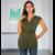Blouse grossesse et allaitement sans manches