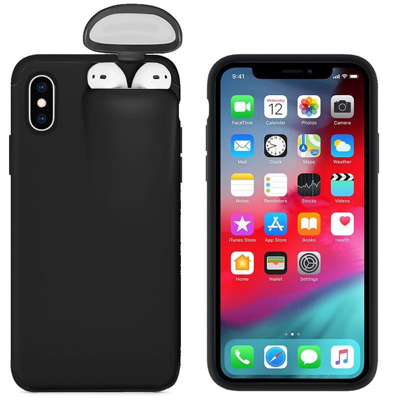 Coque 2 EN 1 POUR Iphone et Airpods De MS