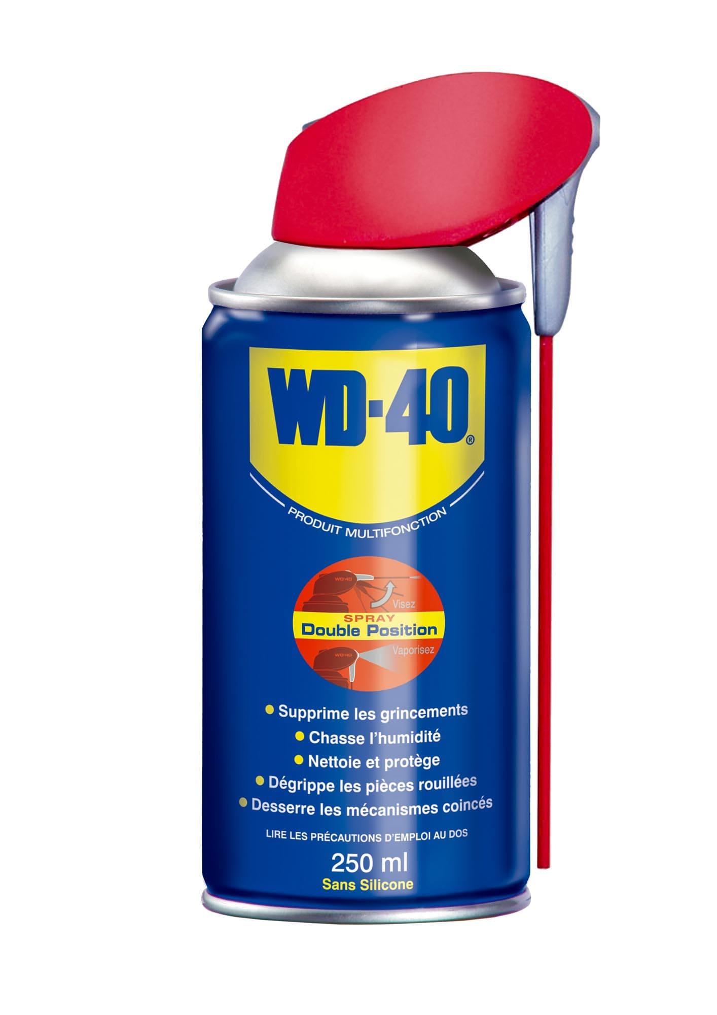 Aérosol dégrippant lubrifiant multifonctions - WD40 600 mL