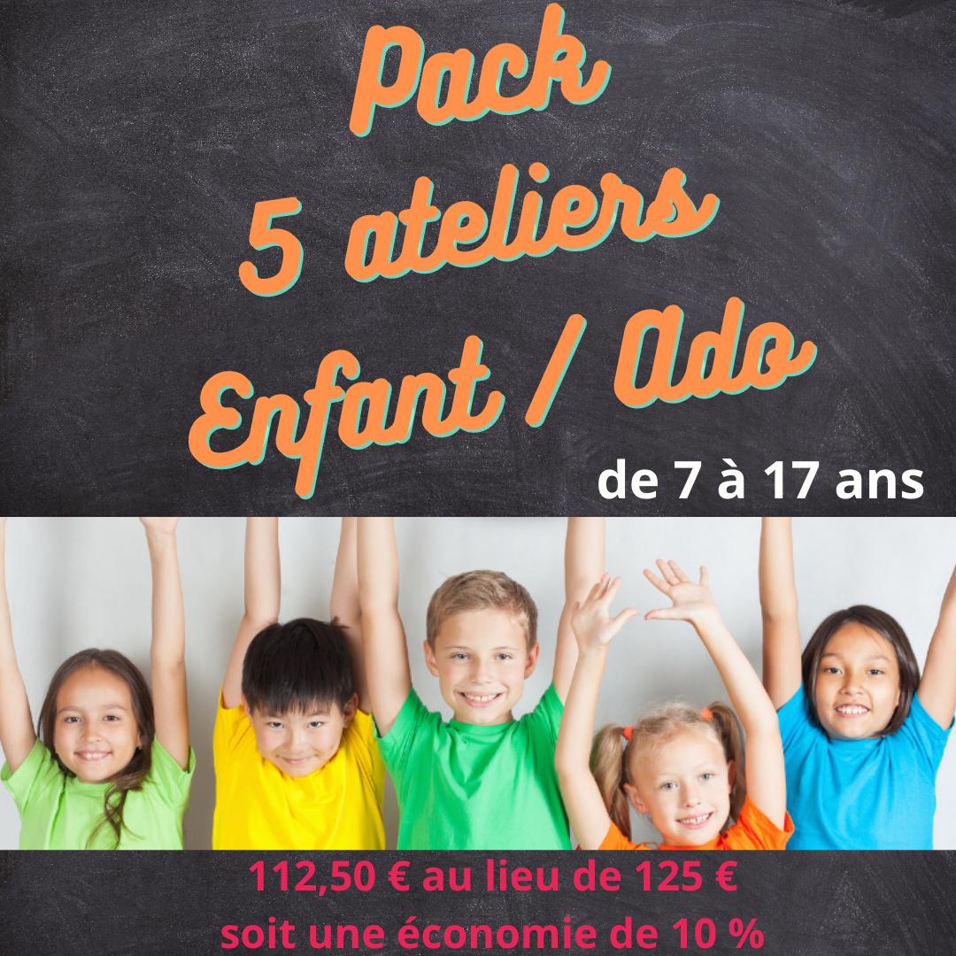 Pack enfant 5 ateliers