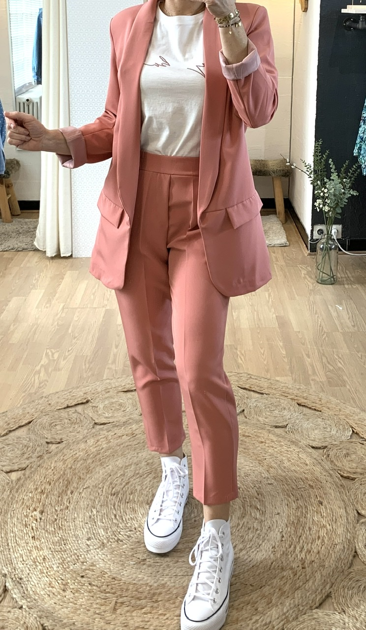 Blazer rose blush