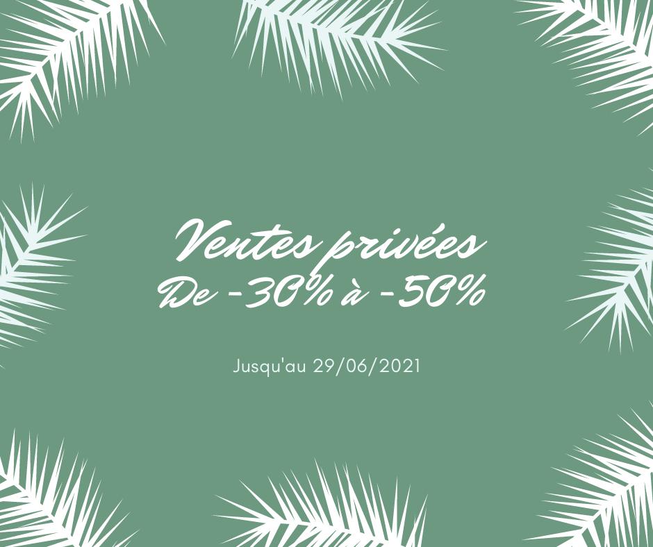 vert tropical soldes pour vacances de paques publication facebook