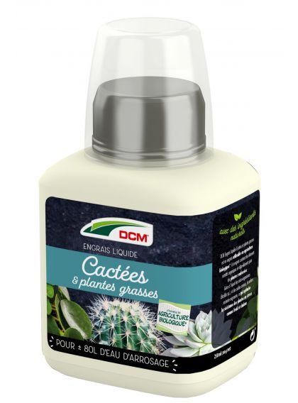 Engrais liquide cactus et plantes grasses