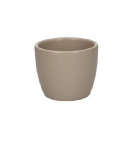 Mini cache-pot boule beige