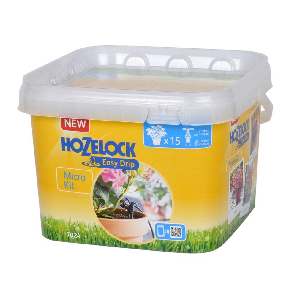 Micro Kit d\'irrigation 15 pots/jardinières