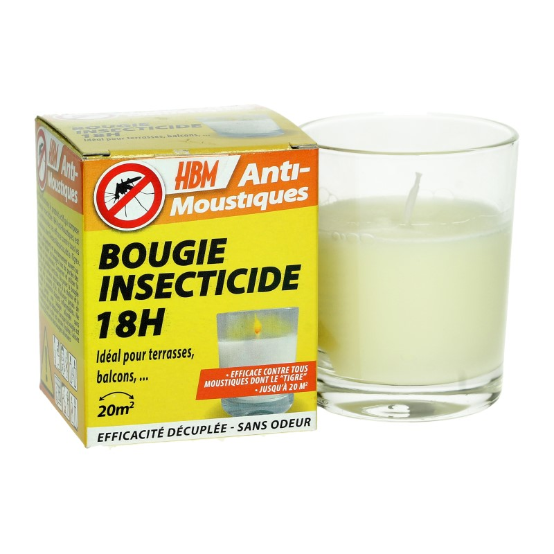 Bougie insecticide 18 H