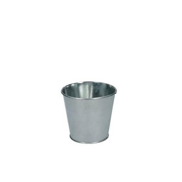Mini cache-pot seau métal