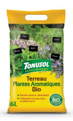 Terreau pour Plantes Aromatiques PETIT FORMAT