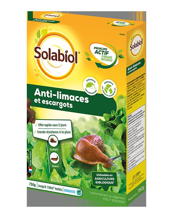 SOLIMA750 solabiol anti limaces escargots - La jardinerie de pessicart nice - Livraison a domicile nice 06 plantes vertes terres terreaux jardinage